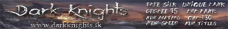 Dark Knights Private Server Cap 130