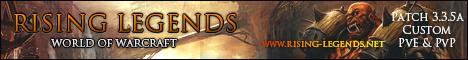 Rising-Legends 3.3.5a Professional Server