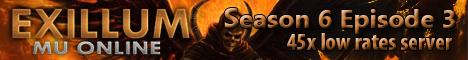 Exillum S6E3 - 45X LOW RATES SERVER