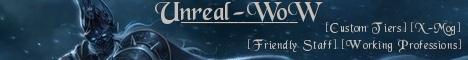 UnrealWoW Level 100 WotLK Funserver