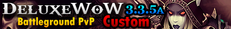 DeluxeWoW 3.3.5a Custom Level 100
