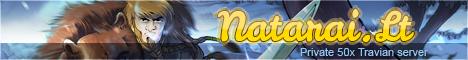 Natarai.lt - Private travian 50x server