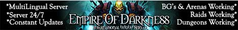 Empire Of Darkness  International WoW