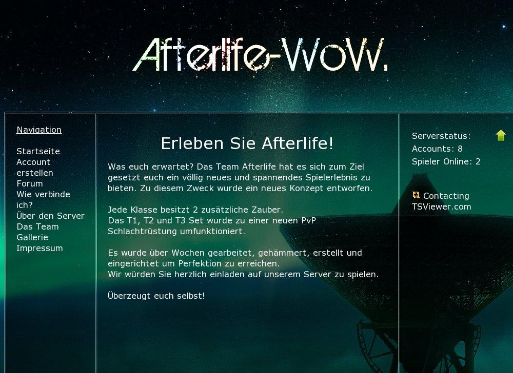 WoWscape Private Server World Of Warcraft Gaming Top List - Minecraft server vote erstellen