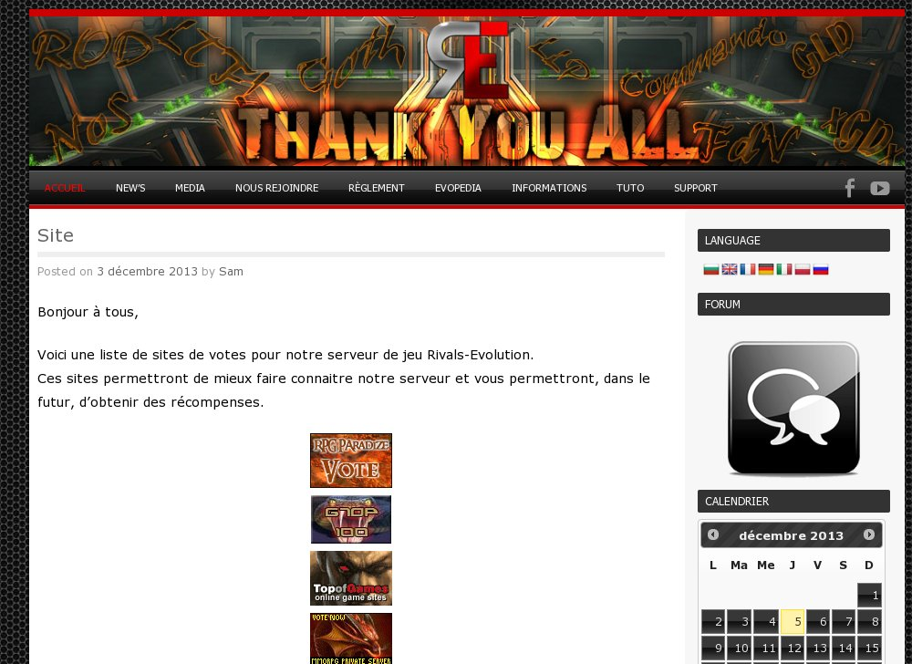 Calendrier Event Metin2.Acestrix Ace Online Gaming Top 100 List Arena Top100 Com