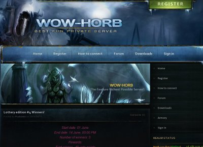 WoW-Horb Best Fun Private Server - World of Warcraft | Gaming