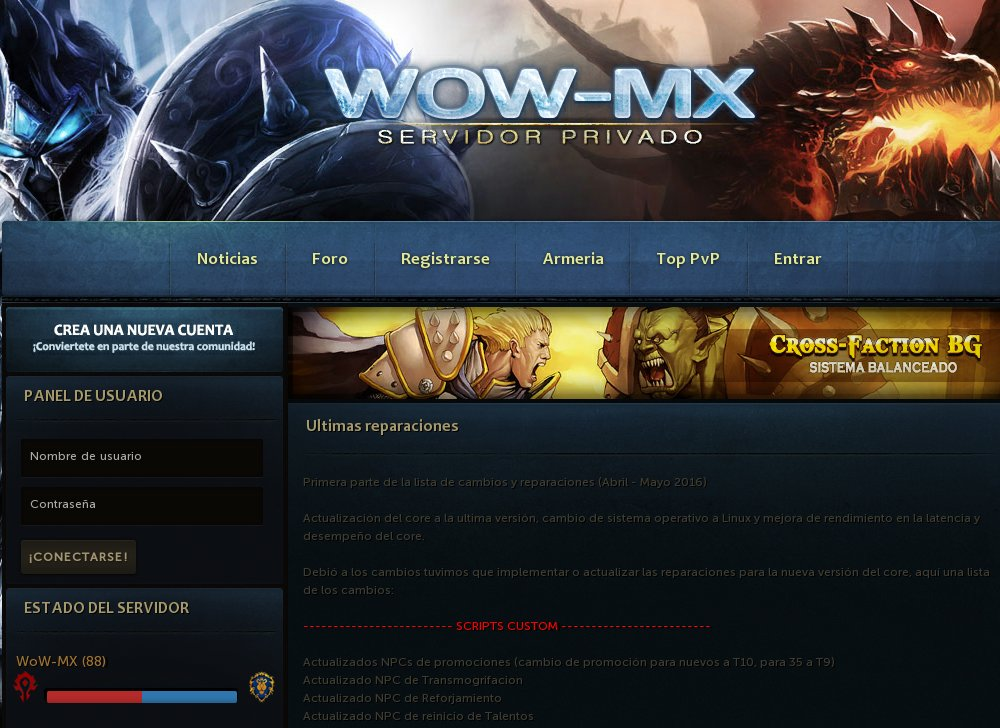 Equniox WoW - World of Warcraft | Gaming top 100 list -